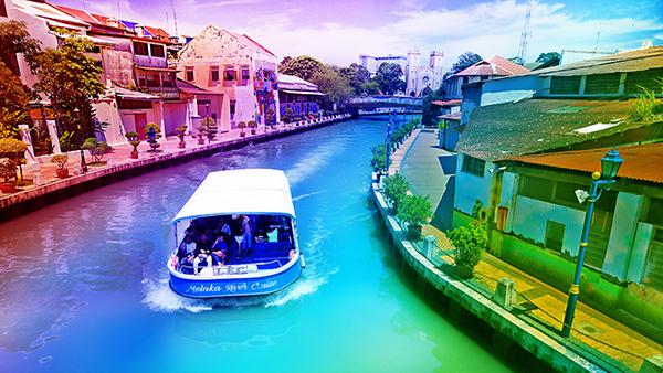 Image result for melaka river cruise